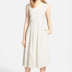 Cutout Stripe Sundress